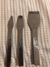 New Vergez Blanchard #12 ( 2.3 mm ) Pricking Irons Set (Leather punch chisel)