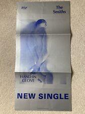 More details for super rare the smiths hand in glove original promo poster vintage cartel 1983