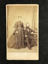 Victorian Carte De Visite CDV: Family: Bool: London: Couple