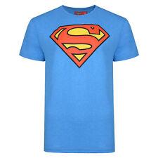 MENS SUPERMAN T SHIRT SLIM FIT COBALT BLUE EX UK STORE XS,S,M,L,XL,XXL NEW