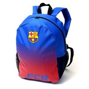 FC Barcelona Backpack Burgundy Official Merchandise Kids School Bag Rucksack