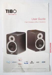 TIBO Turn it back on Manual Book for Plus 2 Speakers Plus 3 Speakers