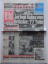 Bild Zeitung 15.1.1982, Madam Teissier, Peter Alexander, Eleonora Gregori,