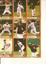 BRANDON BELT - 2011 Fresno Grizzlies Complete Retail Set - NM/MT