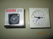 Made in Germany Vintage Aa Battery Quartz Alarm Clocks - Kienzle