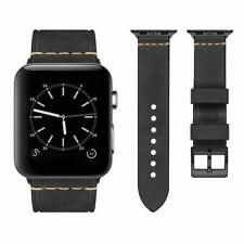 Correa de reemplazo de correa de cuero genuino para iwatch Apple Watch S1 S2 S3