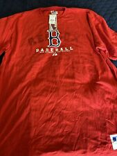 Majestic Authentic Collection Red Socks Shirt XL