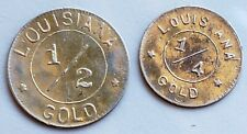 1904 Louisiana Purchase Expo 1/2 Gold & 1/4 Gold G50C & G25C Both Gold Coins
