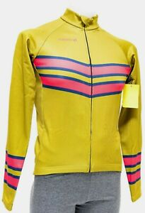 Panache Long Sleeve Thermal Jersey Men ALL SIZES Olive Green Road Bike Gravel