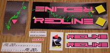 1987 Redline RL-20II Sticker Set - Black/Chrome FREE SHIPPING