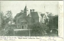 Loveland OH The Old High School 1907