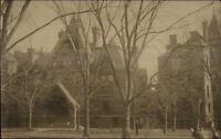 Boston MA Cancel - Buildings & Street c1910 Real Photo Postcard #2