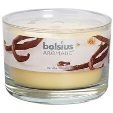 6 Duftgläser Vanille 63x90 mm Bolsius Aromatic Duftkerzen Duftglas