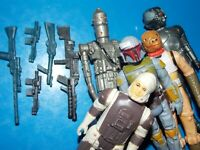 VTG~1977~1980~1981~Kenner~Star~Wars~Boba~Fett~IG88~bounty~hunter~weapons~set~lot