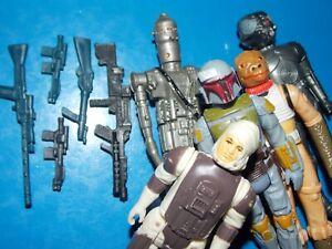 VTG~1977~1980~1981~Kenner~Star~Wars~Boba~Fett~IG88~bounty~hunter~weapons~set~lot