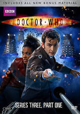 Doctor Who: Series Three, Part One (DVD 2014, 2-Disc Set) FREE TATOOS NEW SEALED