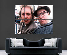 BOTTOM POSTER RIK MAYALL ADRIAN EDMONDSON TV SERIES  WALL ART PRINT