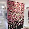 50 Pcs Fake Artificial Silk Rose Heads Flower Buds DIY Bouquet Wedding Decor UK