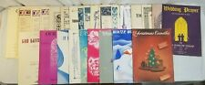 Lot of 25 Religious Sheet Music Lot