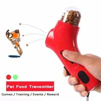 Pet Food Transmitter Catapult Games Training Outdoor Reward Interactive Toys Dog