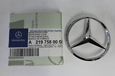 Genuine Mercedes-Benz C219 CLS Rear Boot Trunk Lid Badge Star A2197580058 NEW