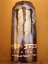☸ ڿڰ - * ☸ Monster Energy Drink, absolutely Zero (old), SKU 0411, pleno ☸ ڿڰ - * ☸