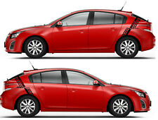 Graphics Racing Line Sticker Car Side Stripe Decal For CHEVY CRUZE 2010-2019.