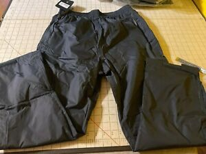 NWT Stormtech PGP-1 Water Proof Pants Breathable Mesh Net Lined Granite Sz Small