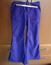 Cyberdog Purple Flare Pants Trousers Small Cybergoth Goth Harajuku Fashion
