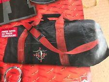 "Marlboro Luggage Black Sport Duffle Bag Gear Bag Vintage Marlboro Tote 22"" NIB"