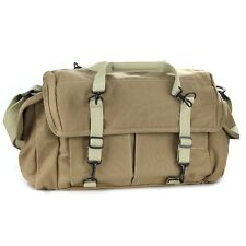 Dollice DR-655S Canvas Sand Shoulder Belt Camera Carry Bag Waterproof Case as F7