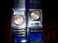PCGS MS62 Morgan Silver Dollar U.S. Mint Coin