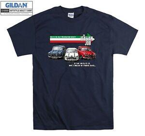 The Italian Job Classic Mini T-hirt Cooper T shirt Men Women Unisex Tshirt 2150