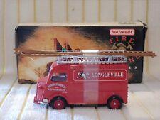 "Matchbox 1/43 YFE13 ""1947 Citroen Type ""H"" Fire Van/Red"" in It's original box."
