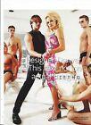Pam Pamela Anderson & Marcus Shenkenberg For 2001 lceberg Fashions Print Ad