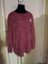 Time and Tru Maternity Sweatshirt Shades of Pink - Size M (8-10)