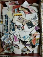 200 Used Some Hinged Off Paper US STAMPS!