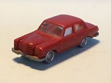 Wiking Mercedes 280 Micro Car Red Smaller HO Scale Plastic
