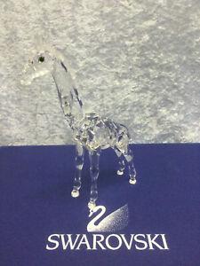 Swarovski Crystal Giraffe, Baby 7603000002 236717. Retired 2005.