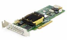 Adaptec Asr-5405/256mb Low Profile SAS HDD Raid Contrôleur Carte PCI Express x8