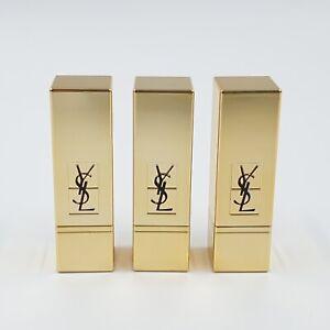 3 x YSL Yves Saint Laurent Rouge Pur Couture Lippenstift 1 Le Rouge Mini