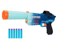 Nerf Gun Fortnite SD Rippley Elite Dart Blaster Silenced Hand Cannon SP Boys Toy