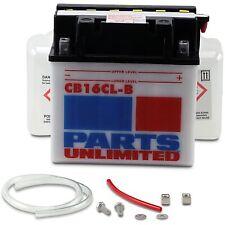 Parts Unlimited - CB16CL-B-FP - 12V Heavy Duty Battery Kit Yamaha,Kawasaki,John