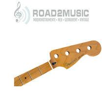 "Fender roasted Maple Jazz Bass Neck 20 Medium jumbo 9.5"" replacement 0990702920"