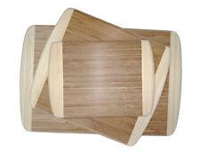 Premium Bamboo Natural Cutting Board Set – Three sizes Small Medium Large