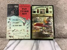 Vintage Noll Fly Tying Kit Custom Deluxe No. 201 New