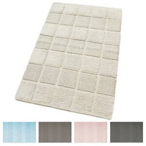 Bathroom Rug Room 100% Cotton Down Bed Soft Absorbent Colors Pastel