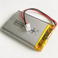 3.7V 1000mAh Polymer lipo Battery JST 2.0mm For MP3 GPS Recorder Camera 503450