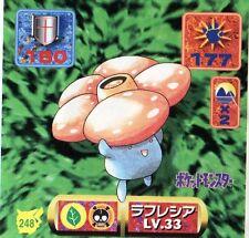 POKEMON STICKER Carte JAPANESE 50X50 1997 NORM@L N° 248 VILEPLUME RAFLESIA