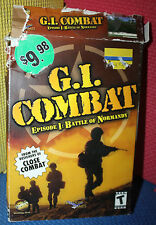 G.I. Combat Episode 1: Battle of Normandy PC CD-Rom with Box and Manual
